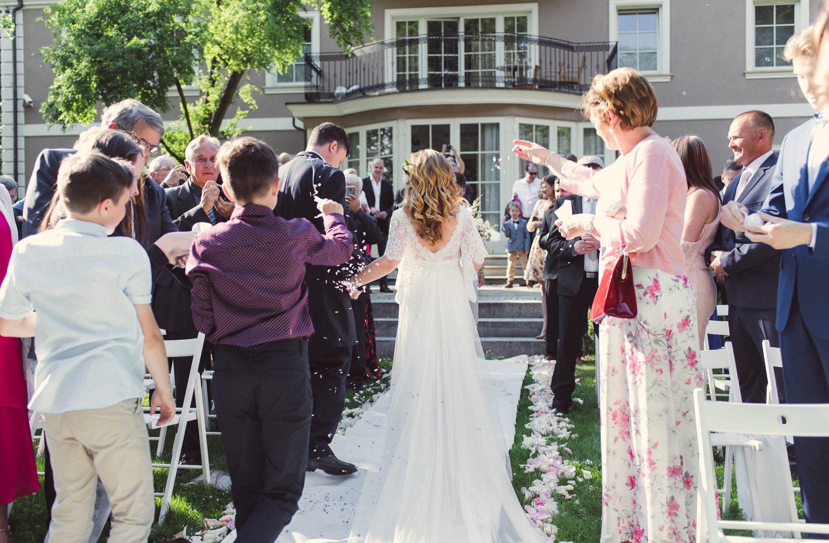 Zaślubiny w plenerze